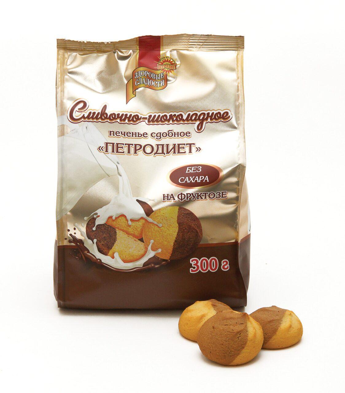 печенье петродиет с изюмом на фруктозе 170г