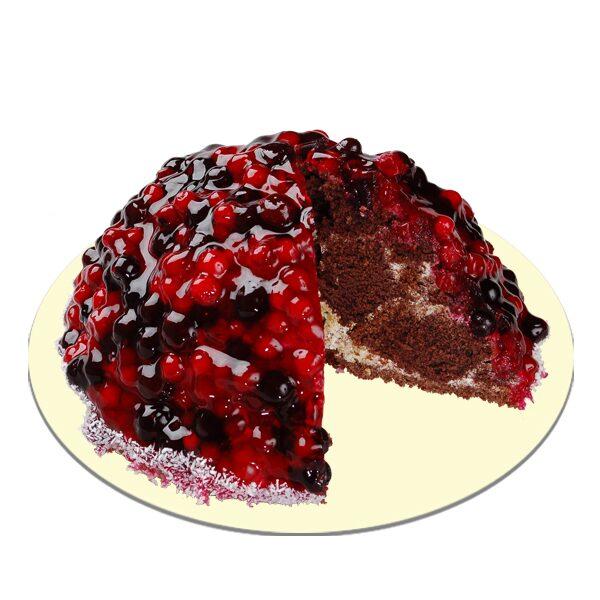 Торт черёмуховый простой фото 8